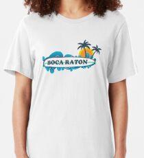 Boca Raton. Slim Fit T-Shirt
