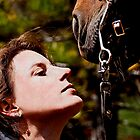 A Woman and Her Horse by Sue Ratcliffe