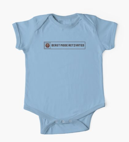 Beast Mode Activated Kids Clothes