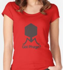 Got Phage? Women's Fitted Scoop T-Shirt