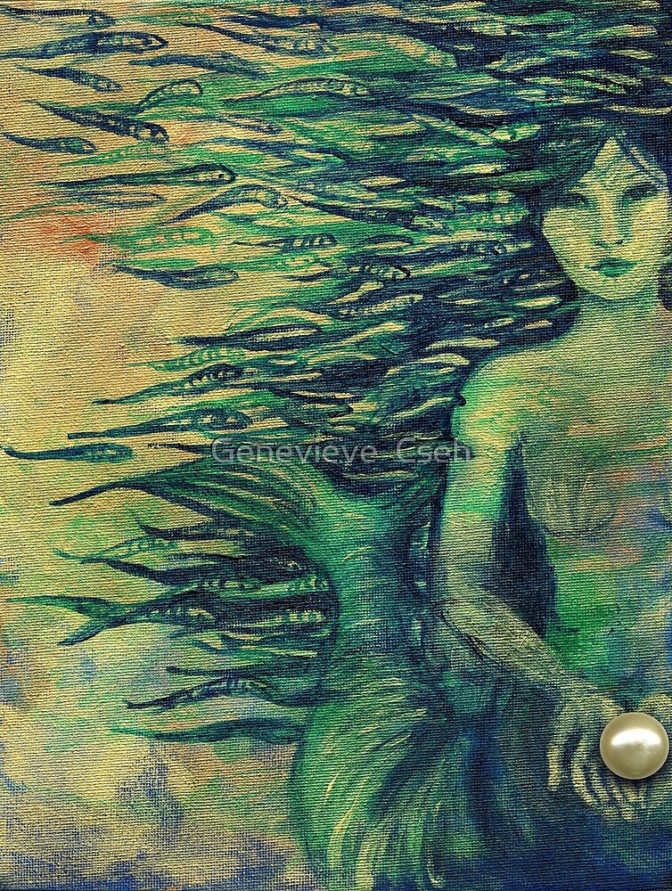Mermaid by Genevieve  Cseh