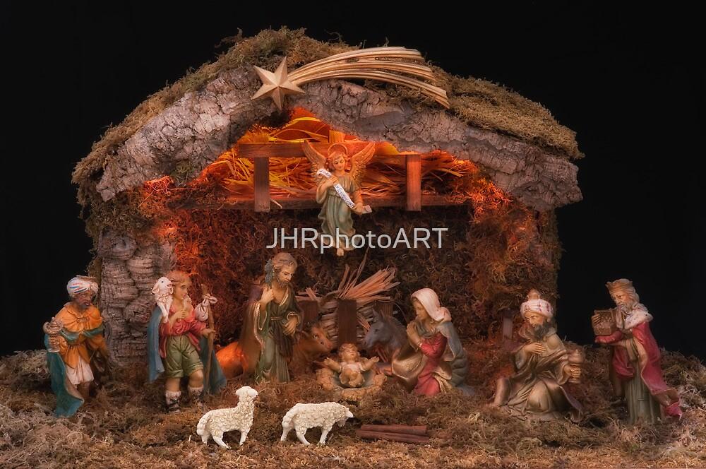 Christmas Nativity Scene by JHRphotoART