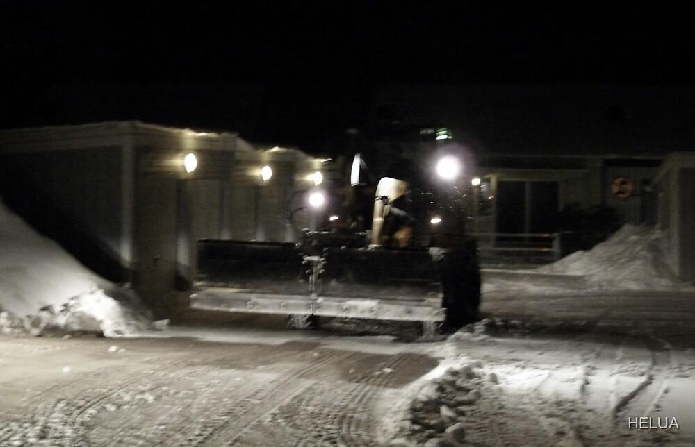 Swedish Snow Plow by HELUA
