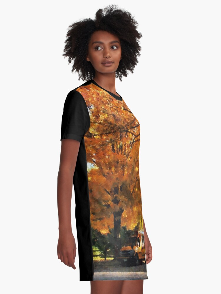 Alternate view of Back to School Graphic T-Shirt Dress