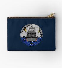 Stormy Seas - Coast Guard 47 MLB Zipper Pouch