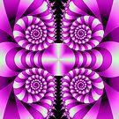 Spiral Quartet by Jane-in-Colour