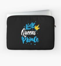 Little Queens Prince New York Raised Me Laptop Sleeve