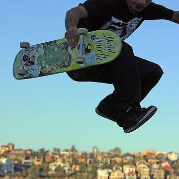 Skater - Bondi Beach Skate Park by Duckstar
