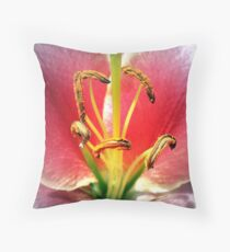 Within The Flower Throw Pillow