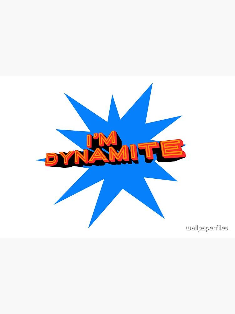 Dynamite (dark blue) by wallpaperfiles