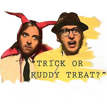 Trick or Ruddy Treat by jenbewonderland