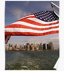 Flag Bearer - NYC Poster