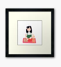 Baking~ Framed Print