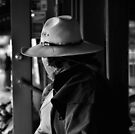 Fort Worth Stock Yards - Cowboy by jphall