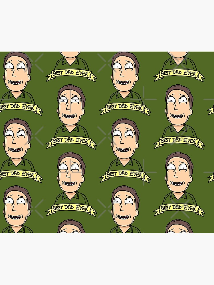 Jerry Smith from Rick and Morty™ : Best Dad Ever by sketchNkustom