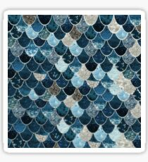REALLY MERMAID MIDNIGHT BLUE by Monika Strigel Sticker