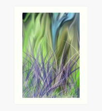 Grassy Knoll Art Print