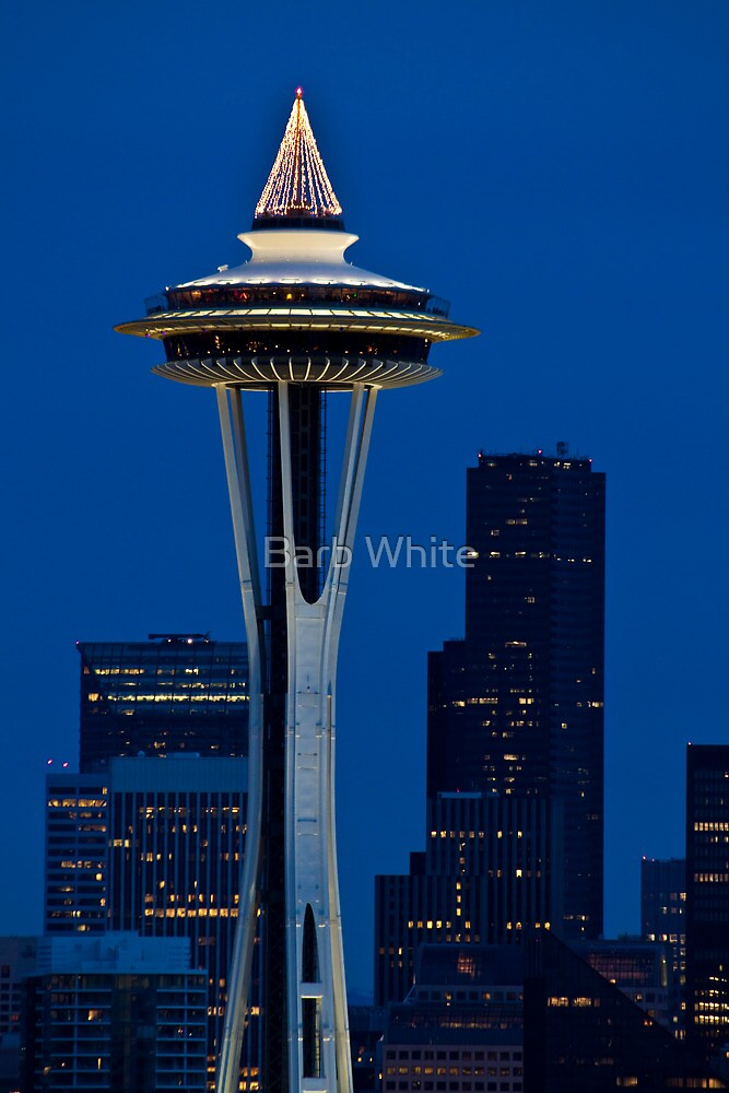Space Needle, Seattle, WA by Barb White