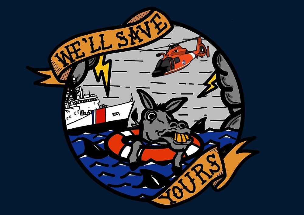 We'll Save Yours - Coast Guard NSC by AlwaysReadyCltv