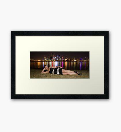 Lesley 5 Framed Print