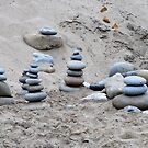 Rocks and Sand by MaryLynn