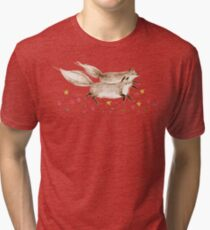 Running Foxes Tri-blend T-Shirt