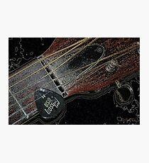 Sigma Guitar Photographic Print