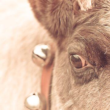 reindeer thoughts by eelsblueEllen