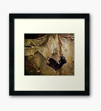 Hiding In Decay Framed Print