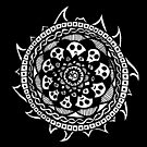 Wheel of Skulls by mintdawn