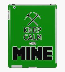 Minecraft - Keep Calm and Mine iPad Case/Skin