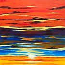 'SUNSET AS A DIVINE GESTURE' (Final Version) by Jerry Kirk