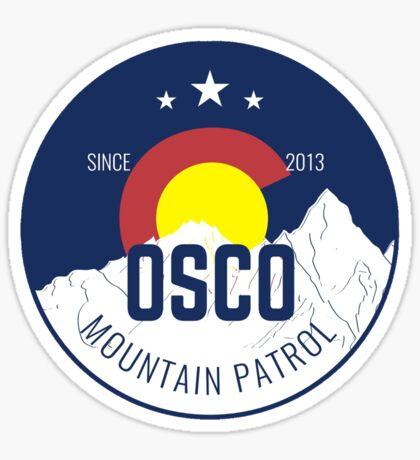 OSCO Mountain Patrol Sticker Sticker