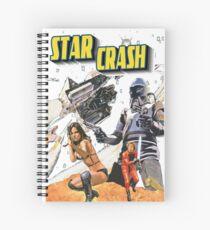 Star Crash Spiral Notebook