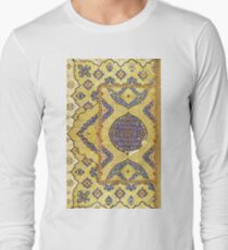 Ornate vintage Pattern Long Sleeve T-Shirt