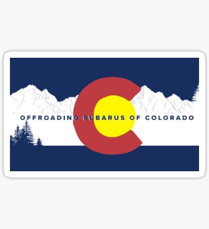 OSCO Flag Sticker