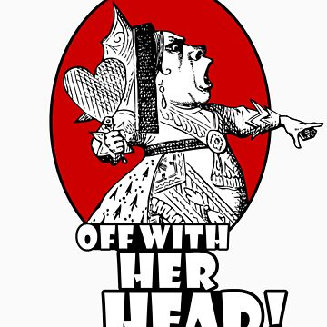 Off With Her Head Logo by tartanphoenix