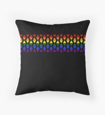 Band of Pride Triangles Floor Pillow