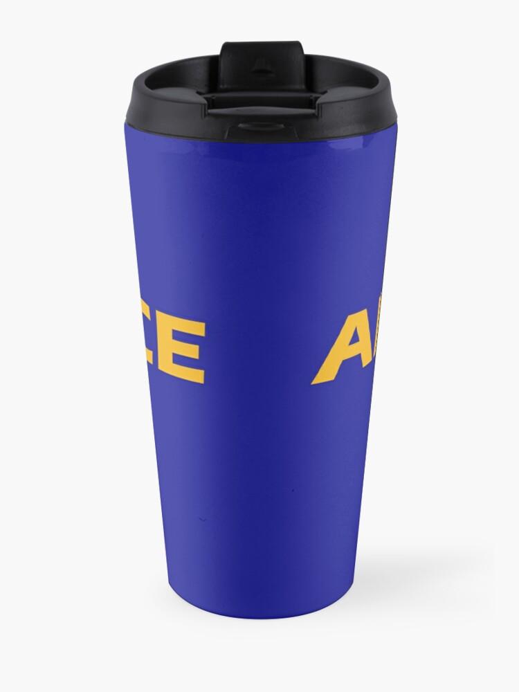Alternate view of Air Force Brat!  Travel Mug