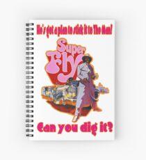 Super Fly Spiral Notebook