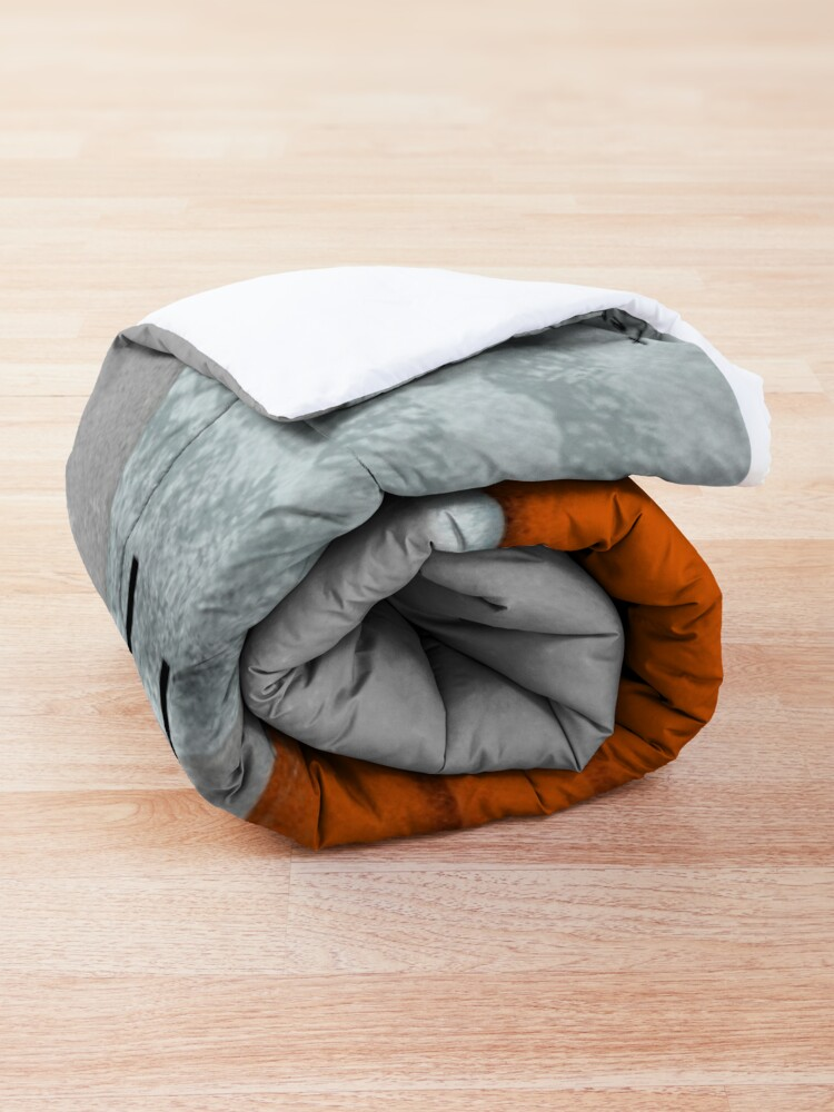 Alternate view of ORANGE SOFA Comforter