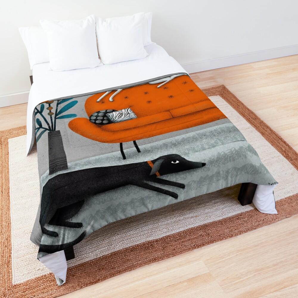 ORANGE SOFA Comforter