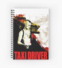Taxi Driver Spiral Notebook
