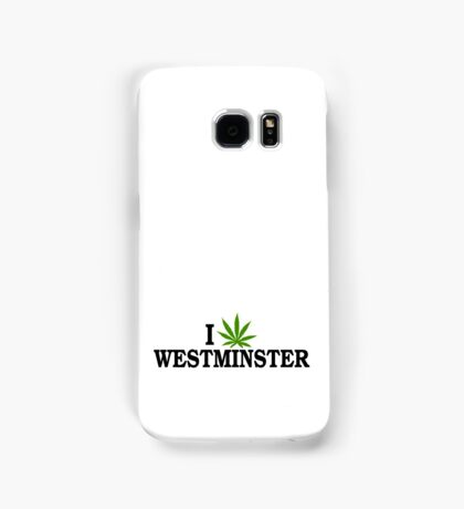 I Marijuana Love Westminster Colorado Samsung Galaxy Case/Skin