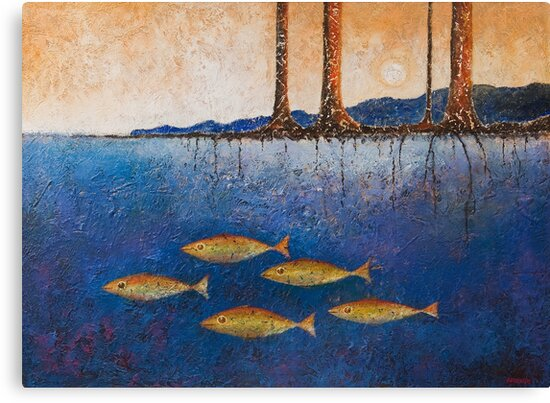 RIVER BANK by Thomas Andersen