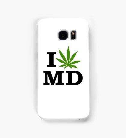 I Love Maryland Marijuana Cannabis Weed Samsung Galaxy Case/Skin