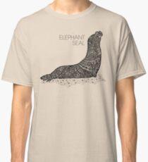 Elephant Seal Sketch Classic T-Shirt