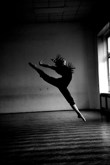 A dancer.  by Iris Anam Cara