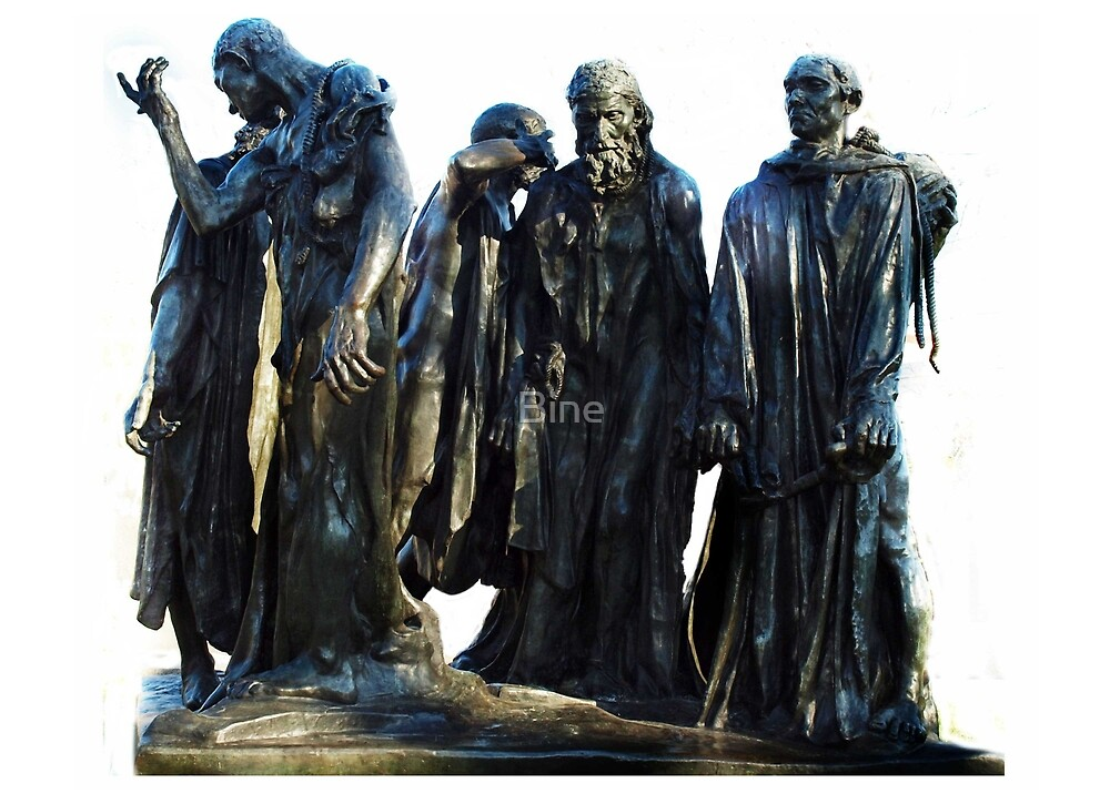 The Burghers of Calais, 1884-1889 by Bine