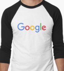 New Google Logo Men's Baseball ¾ T-Shirt